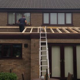 roof builton extension