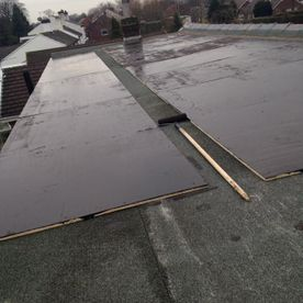 flat roofing installation